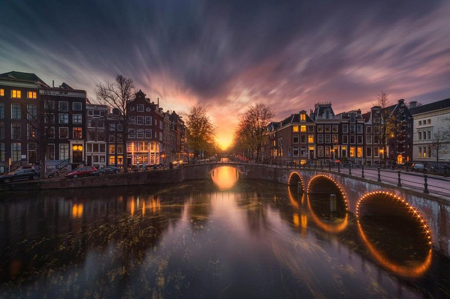 Paisaje de Amsterdam