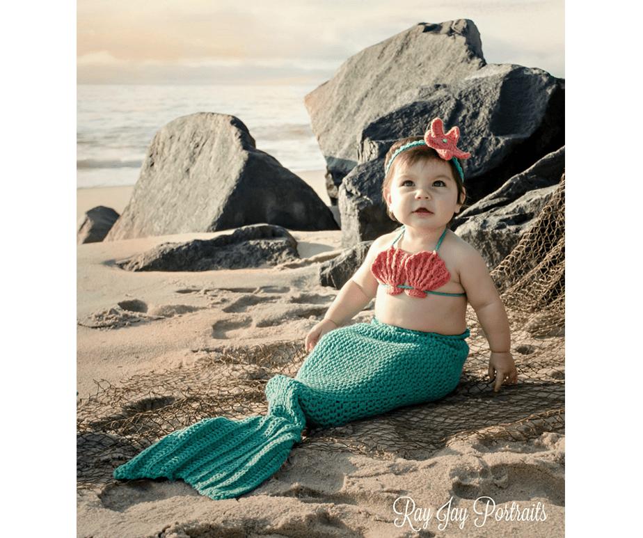 Fotografía de Bebés_-La sirenita