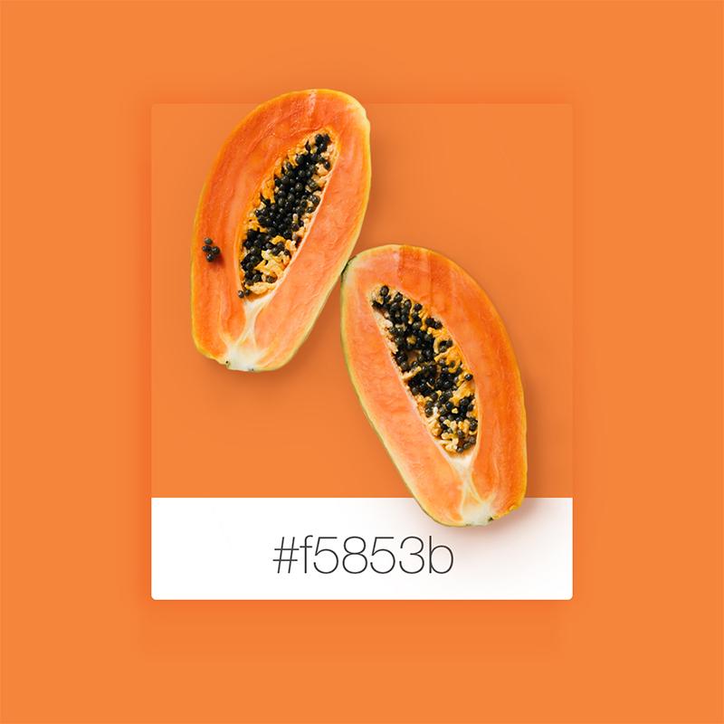 Colores que inspiran: Papaya es el nuevo negro