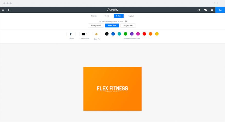 Creador de logos: Logojoy