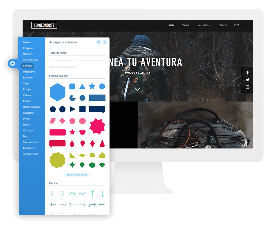 Crea un logo con el editor de Wix