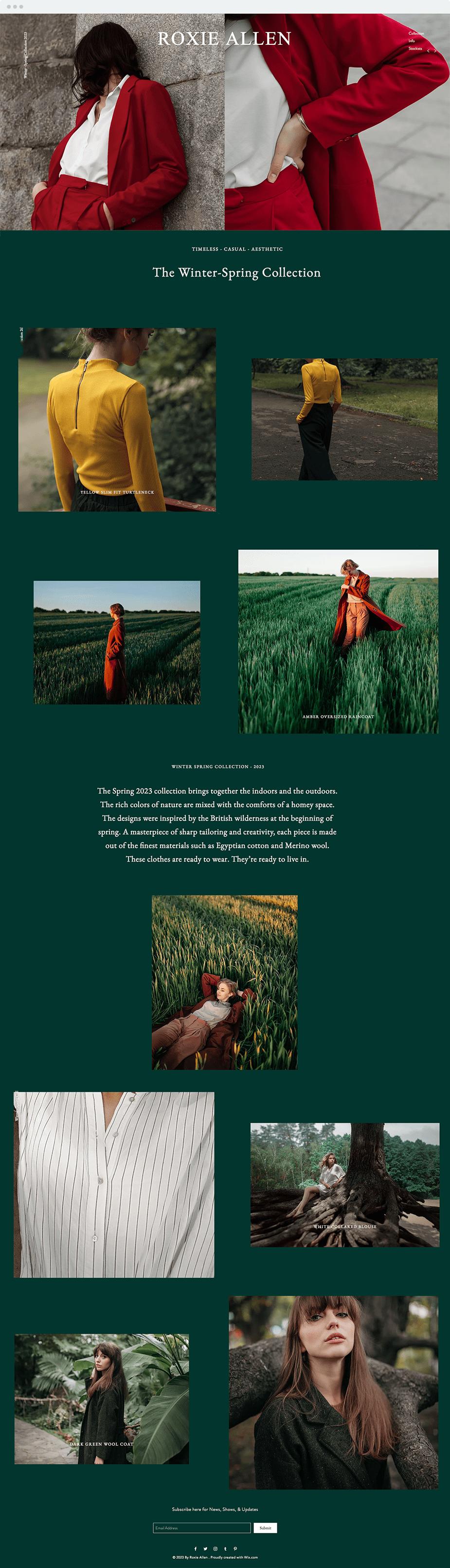 Plantilla para diseñadores de moda