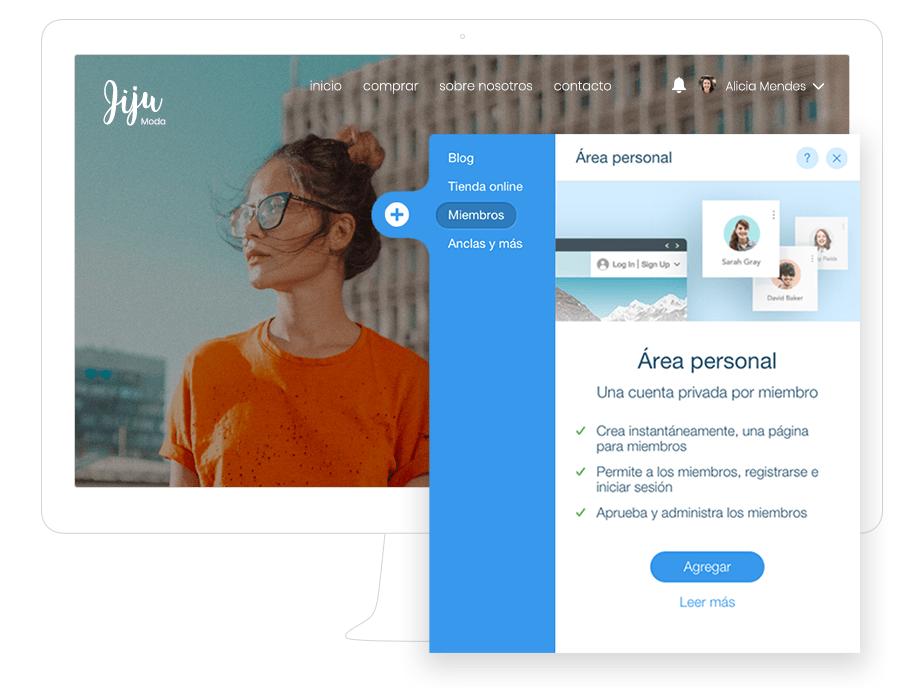 Cómo agregar Área de Miembros a tu web